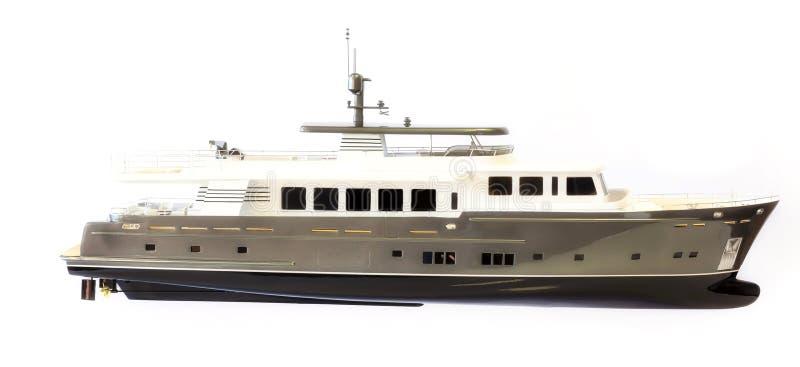 比例模型游艇,权利 免版税库存图片