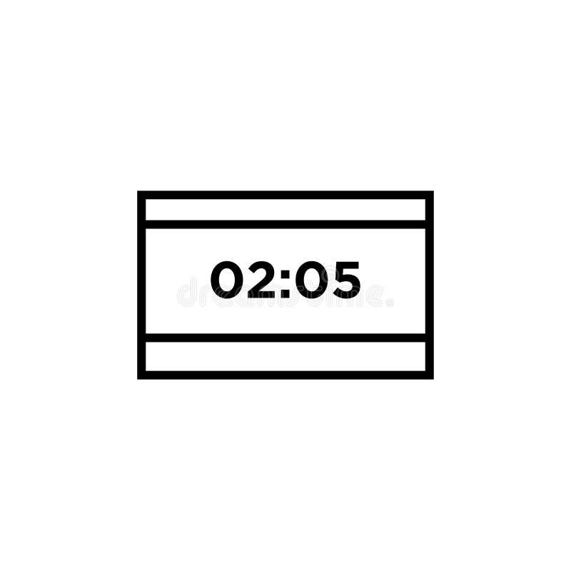 比分象在白色背景和标志隔绝的传染媒介标志,比分商标概念 库存例证