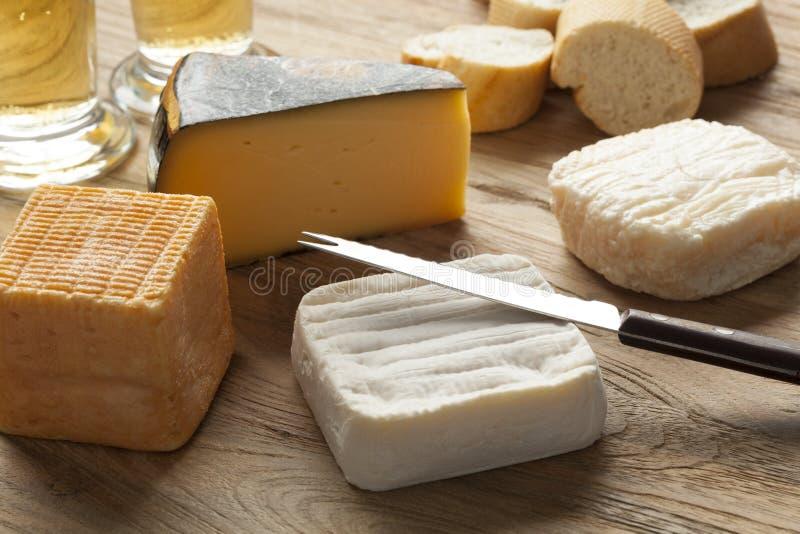 比利时乳酪板 免版税库存图片