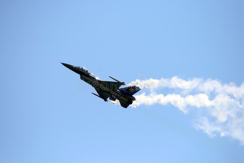 比利时人F-16 库存照片