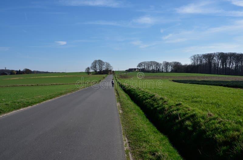 比利时佛兰芒人阿尔登风景 库存图片