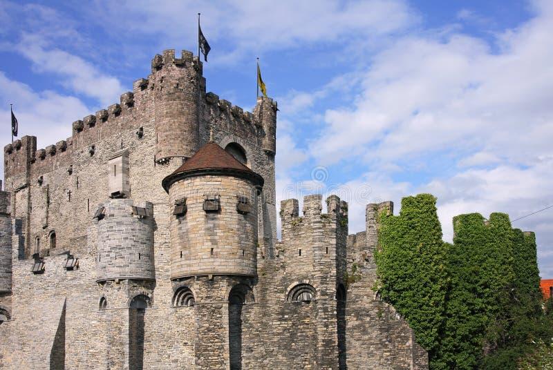 比利时城堡 库存图片