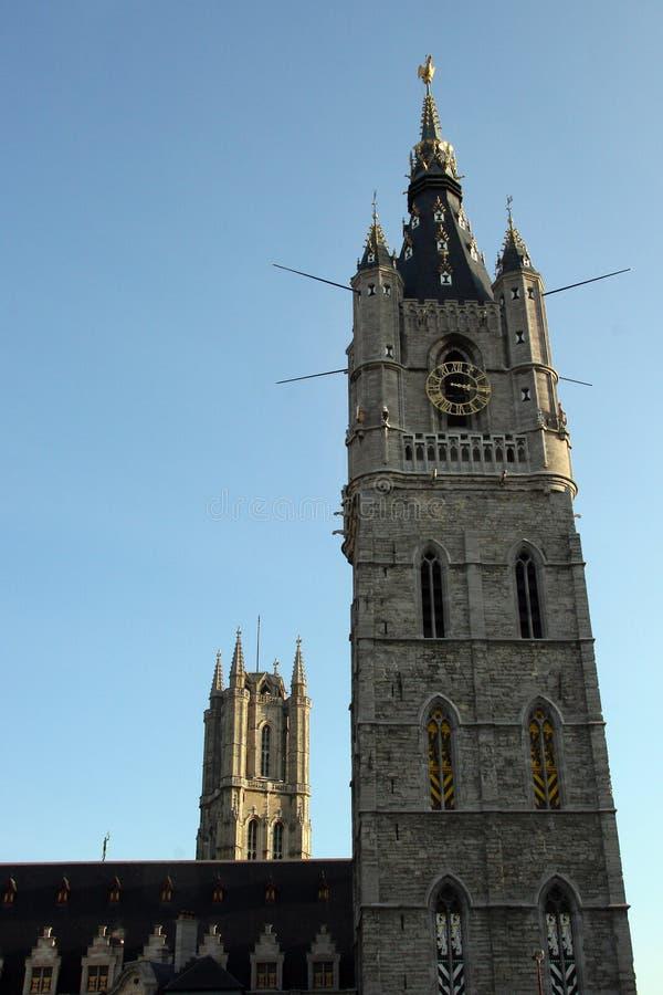 比利时大教堂绅士 免版税库存照片