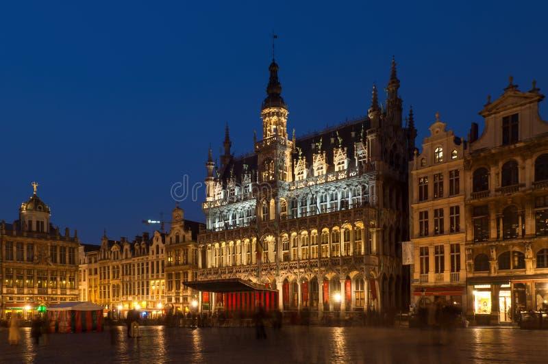 比利时布鲁塞尔全部安排 库存图片