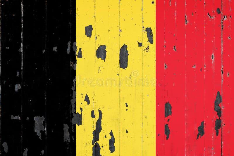 比利时的国旗背景的 皇族释放例证