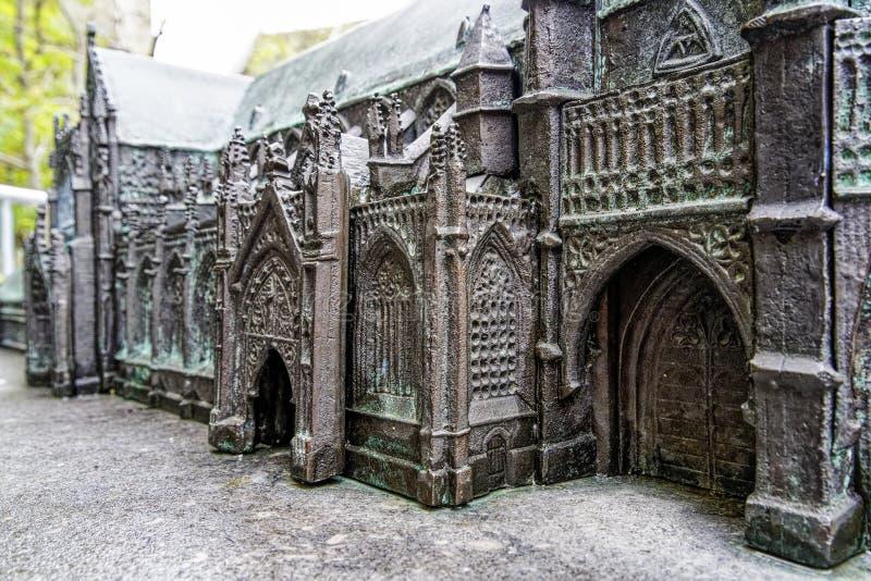 比利时通格伦天主教修道院模特特写 库存图片
