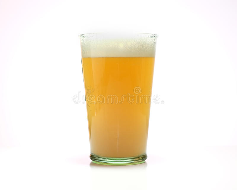 比利时麦子啤酒 免版税库存图片