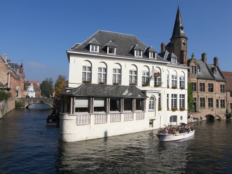 比利时brugges 免版税库存图片