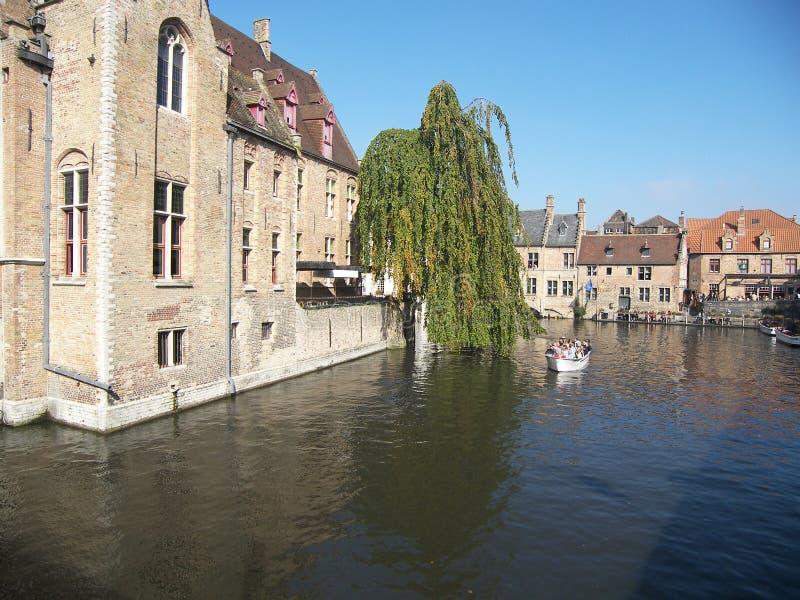 比利时brugges 库存图片