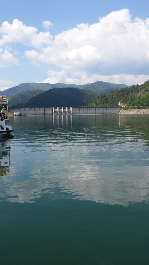 比卡兹水坝罗马尼亚 免版税库存照片