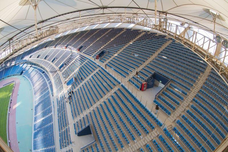 贾比尔体育场 免版税库存图片