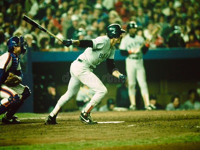 比尔Buckner波士顿Red Sox 免版税图库摄影
