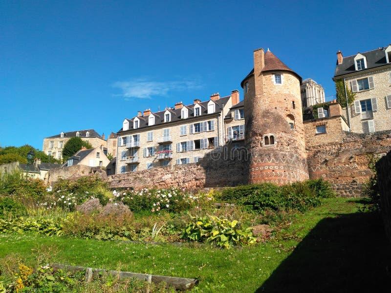 比拉罗斯城堡nesvij塔 库存图片