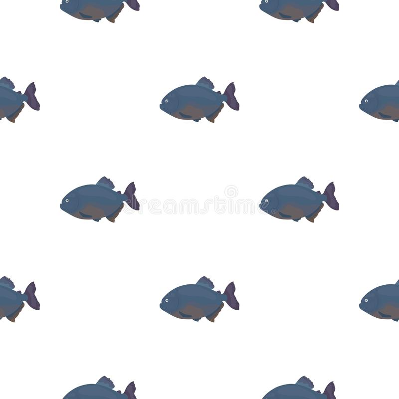 比拉鱼鱼象动画片 烧焦水族馆从海,海洋的鱼象生活动画片 皇族释放例证