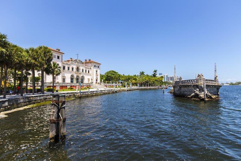 比斯卡亚博物馆在迈阿密 库存照片
