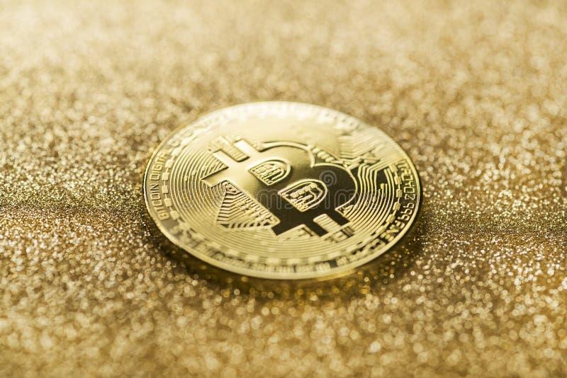 比特币加密货币 图库摄影