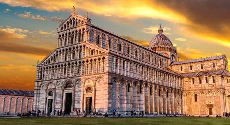 比萨大教堂 免版税库存图片