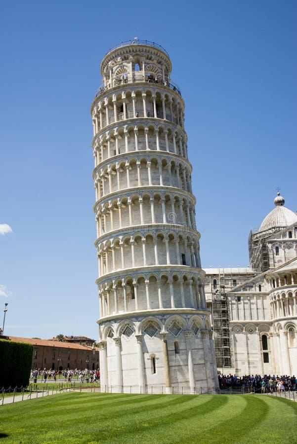 比萨斜塔-比萨-托斯卡纳-意大利 库存图片