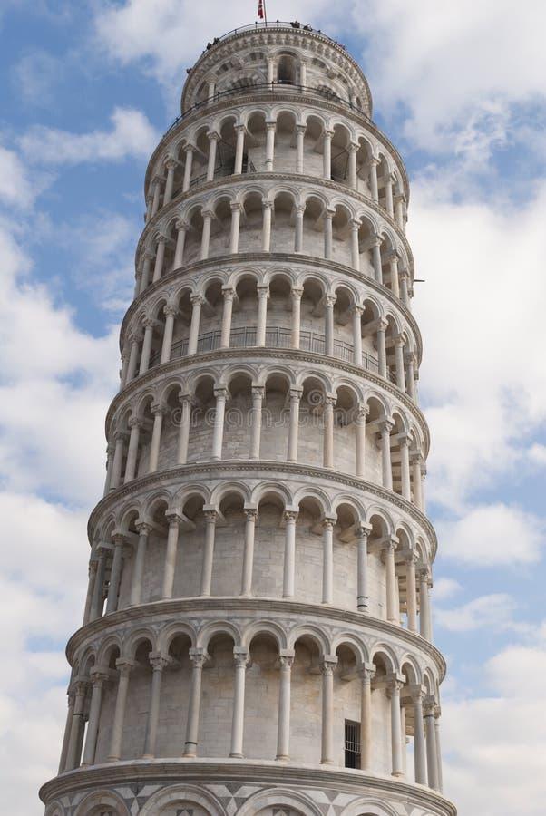 比萨,意大利塔  库存照片