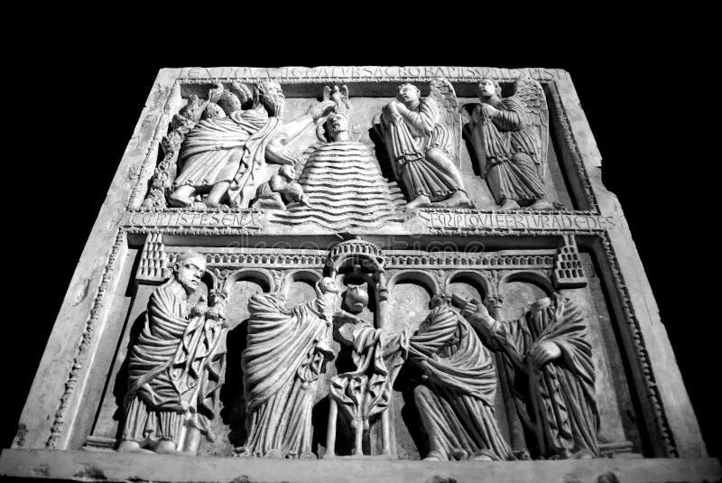 比萨,意大利-大约2018年2月:奇迹正方形的Sinopie博物馆  免版税库存图片