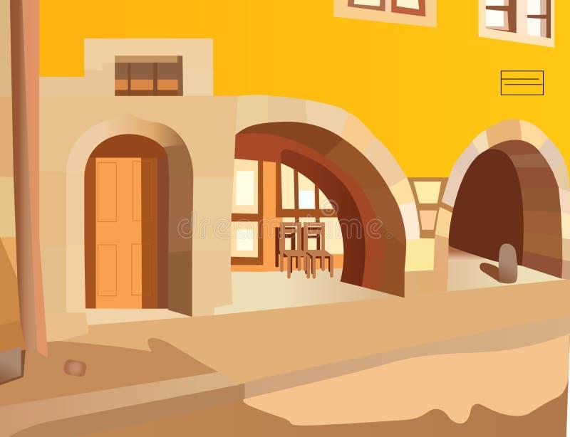 比赛和动画片背景例证设计 皇族释放例证
