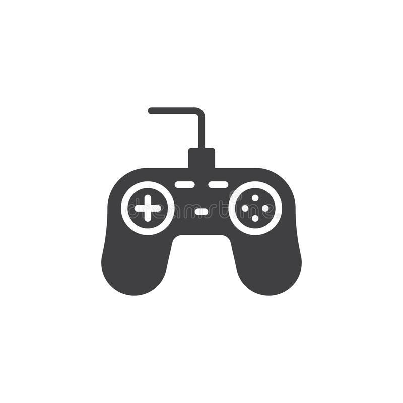 比赛控制器象传染媒介 库存例证