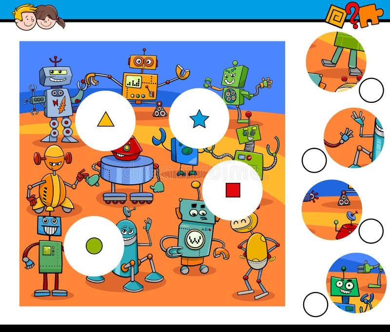 比赛编结与机器人的七巧板