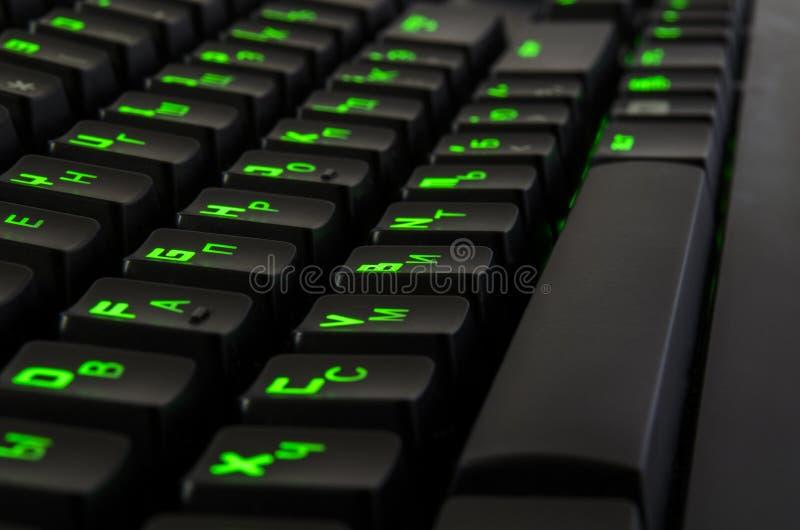 比赛键盘 库存照片