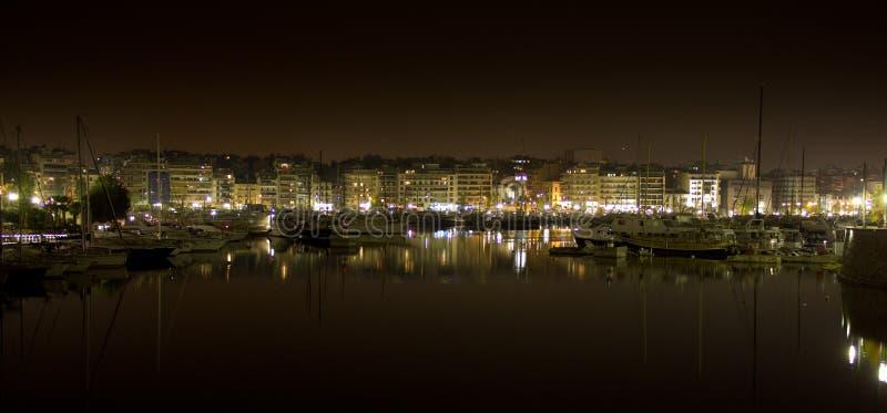 比里犹斯港口 免版税库存照片