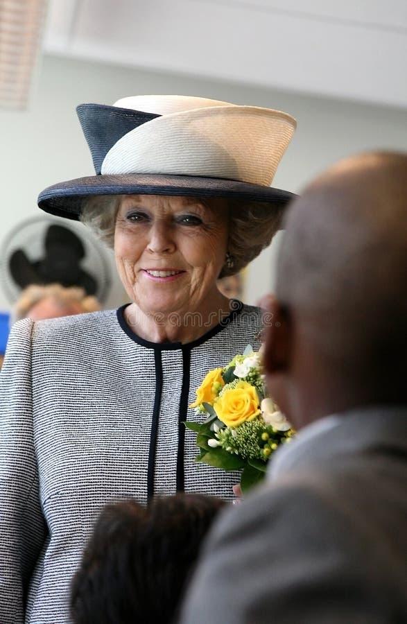 比阿特丽克斯荷兰女王/王后 免版税库存图片