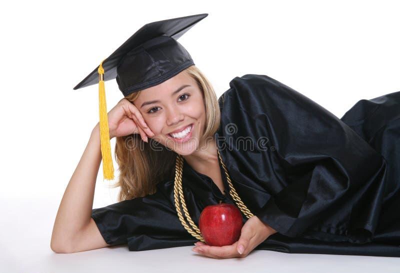 毕业生妇女 库存图片