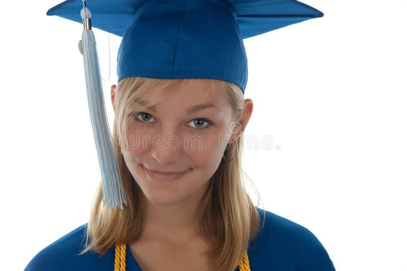 毕业的前辈 免版税库存照片