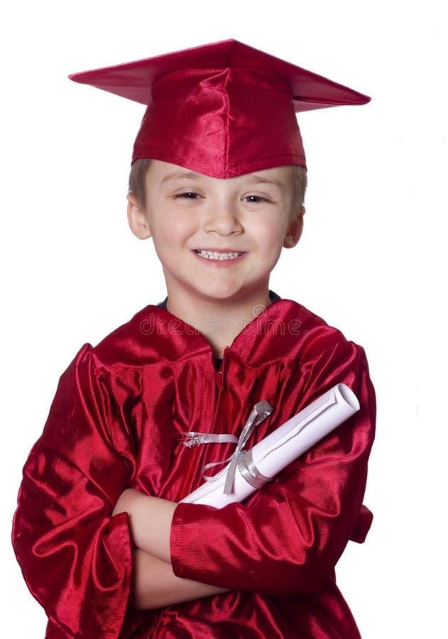 毕业的幼稚园 免版税库存图片