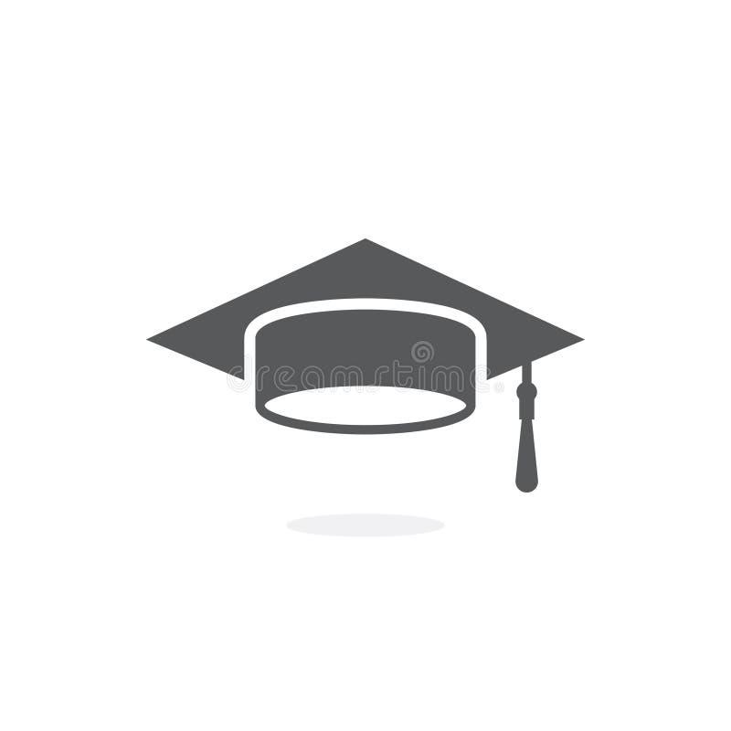 毕业盖帽象 皇族释放例证