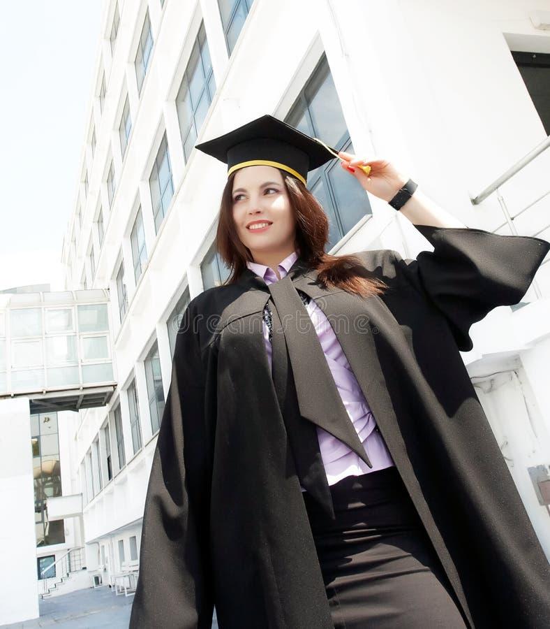 毕业纵向妇女 免版税图库摄影
