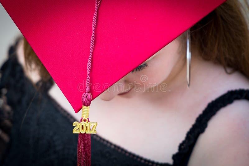 毕业2017年 免版税图库摄影