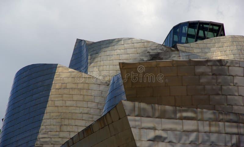 毕尔巴鄂guggenheim博物馆 免版税库存图片