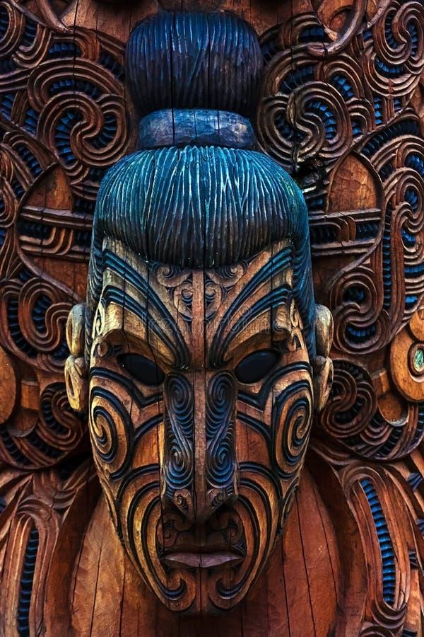 毛利人图腾 库存图片