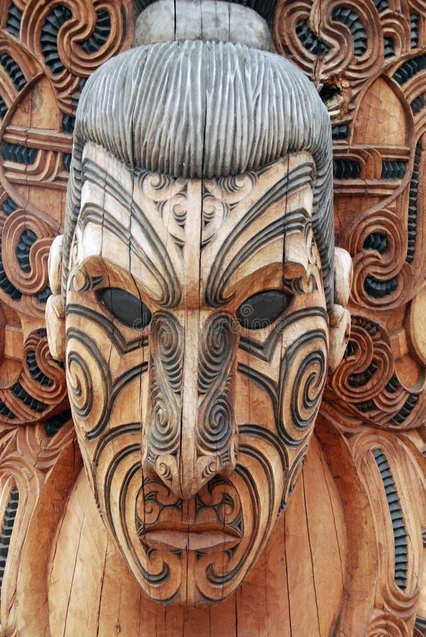 毛利人战士 库存图片