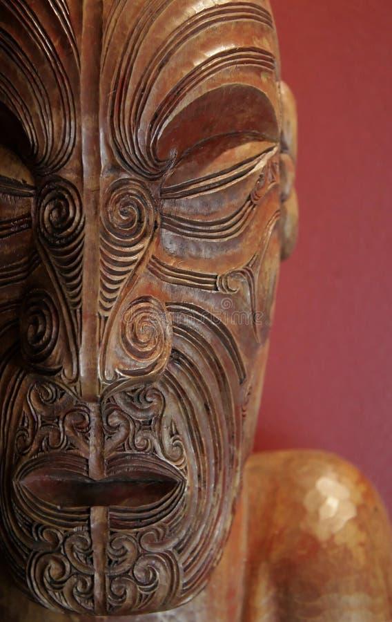 毛利人的艺术 库存图片