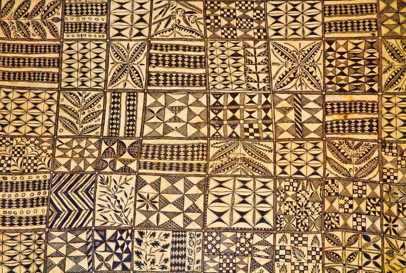 毛利人纺织品 库存图片