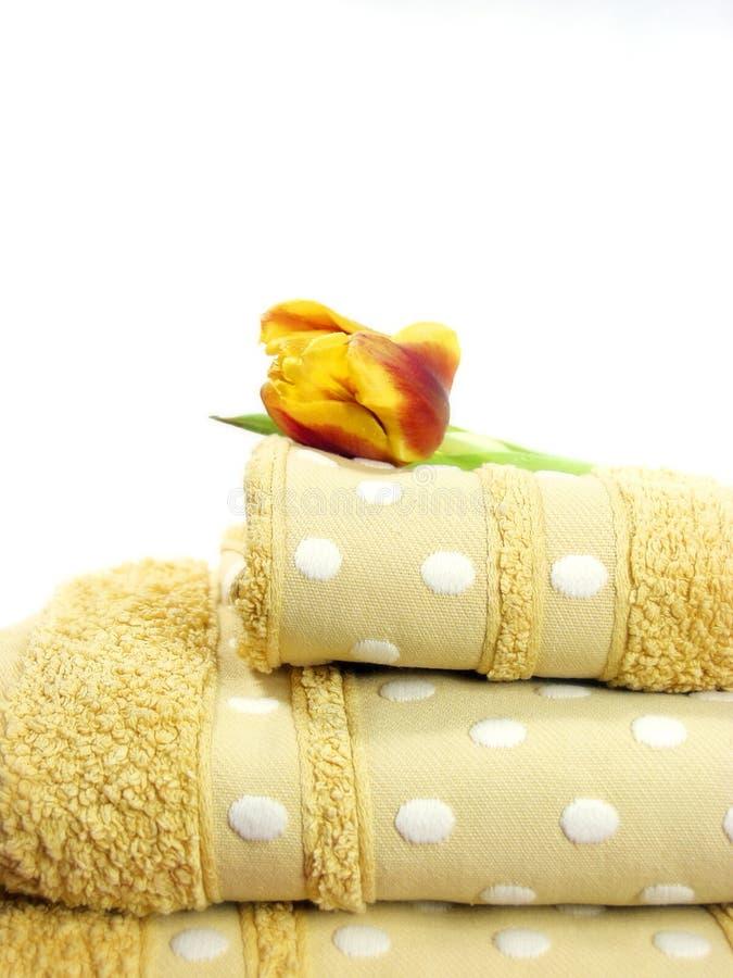 毛巾 免版税图库摄影