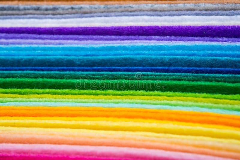 毛毡织品板料 库存图片