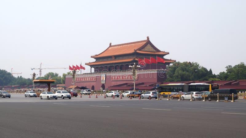 毛泽东陵墓  北京瓷 免版税库存照片