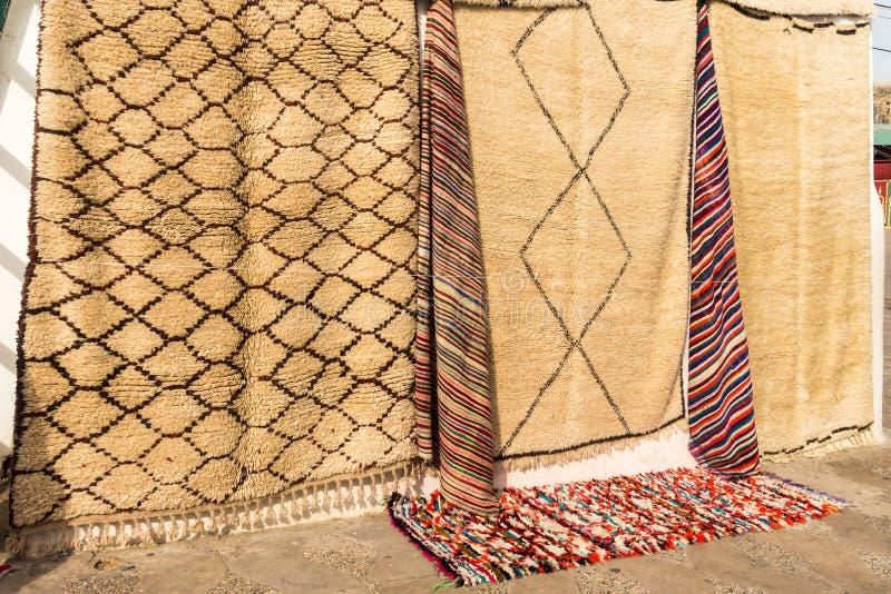 毛海织物羊毛地毯 免版税图库摄影