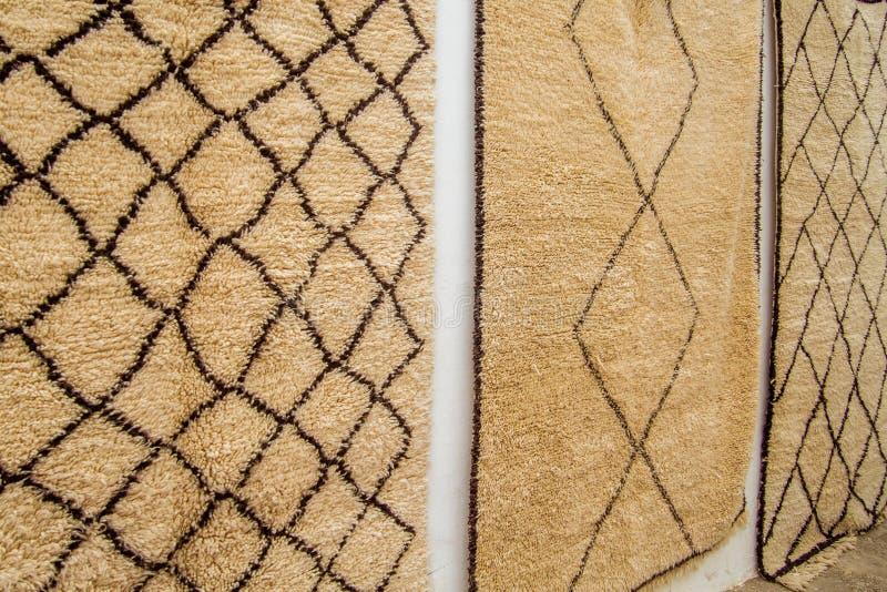 毛海织物羊毛地毯 免版税库存图片