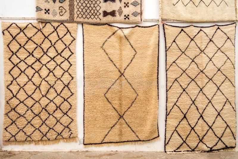 毛海织物羊毛地毯 免版税库存照片