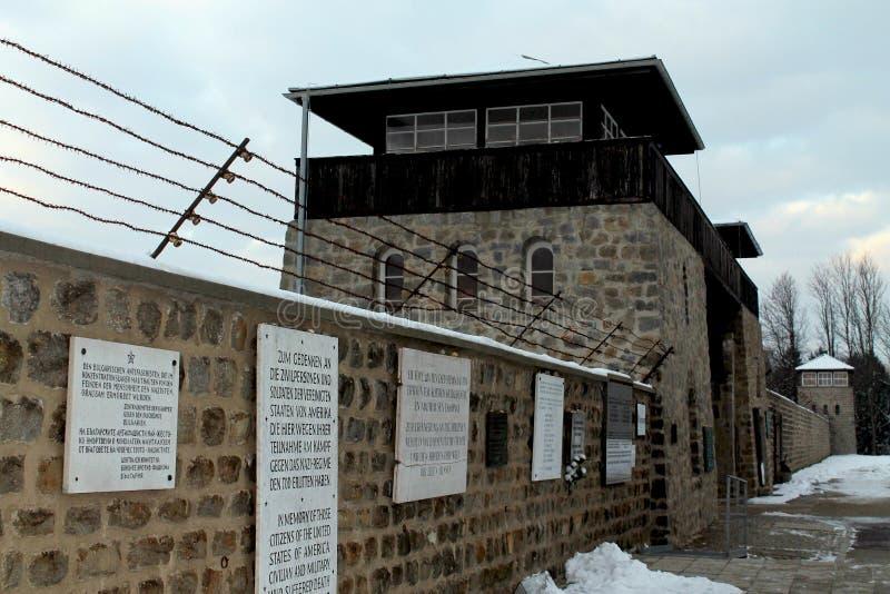 毛特豪森,奥地利:2012年.毛特豪森浩劫纪念品;毛特豪森集中营 库存照片