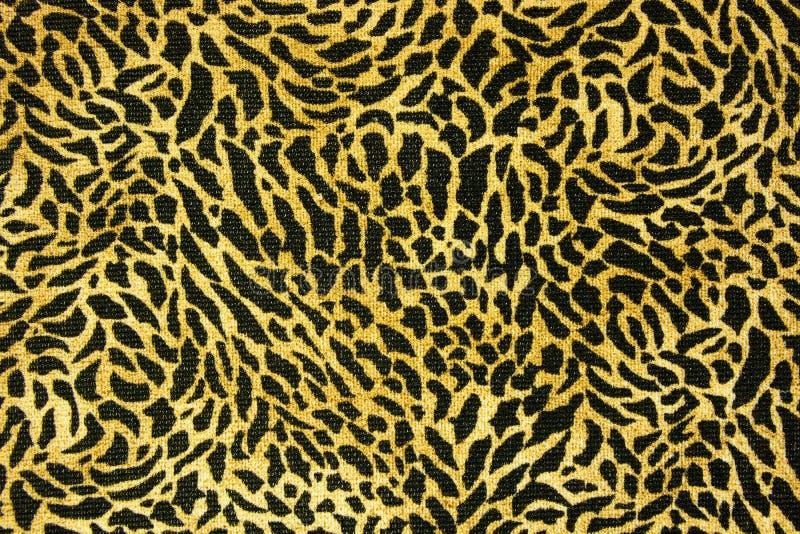 毛皮无缝豹子的模式 免版税图库摄影