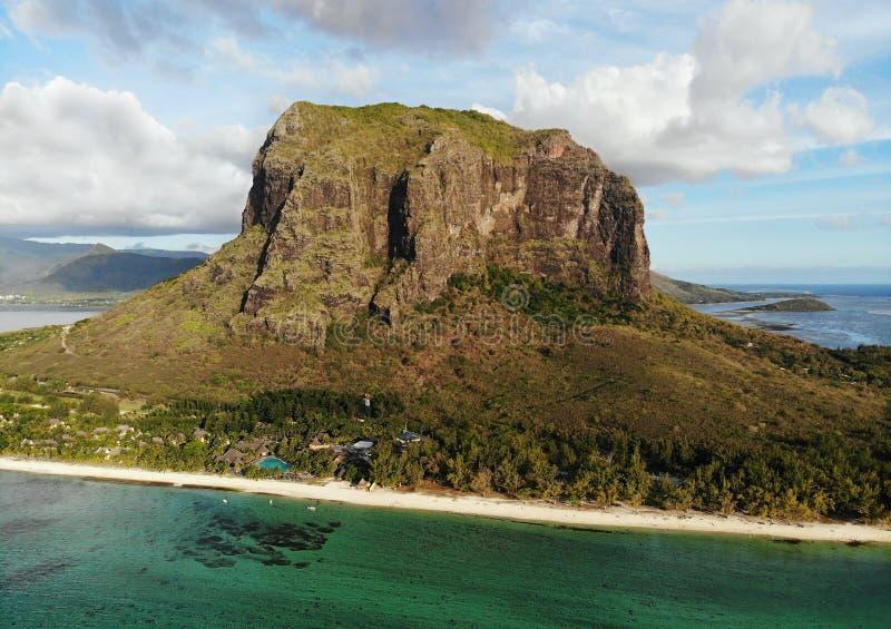 毛里求斯异乎寻常的海岛 免版税库存照片